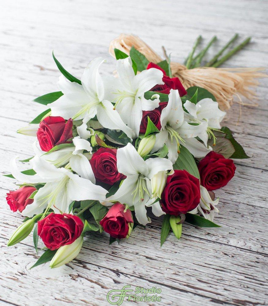 Лилии и розы картинки, открытки днем рождения