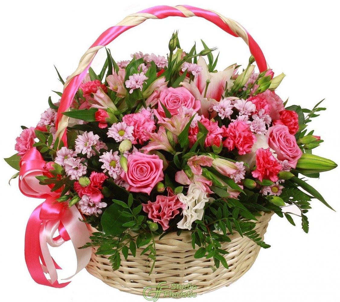 россии картинки красивые корзины с цветами всё, что