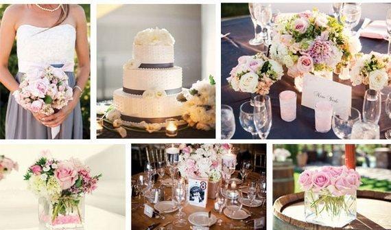 Оформление свадеб в розовых тонах