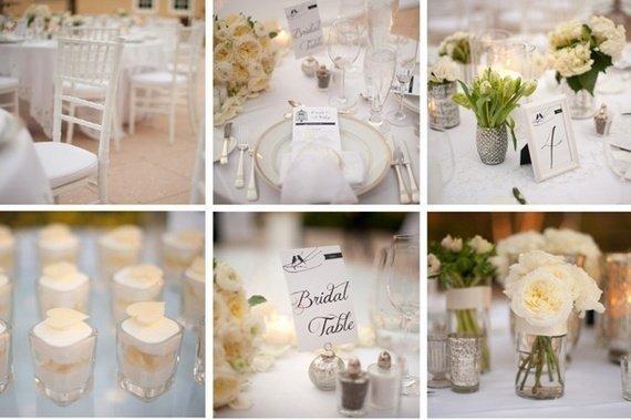 Оформление свадеб в белом цвете